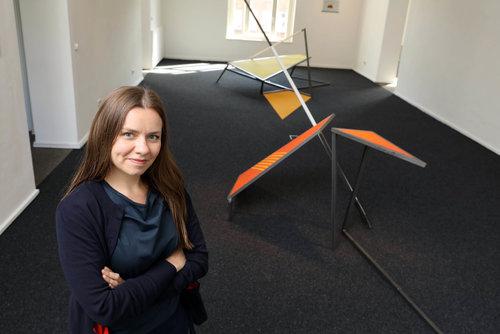 Justyna Janetzek ist die neue Kunstgenerator-Stipendiatin