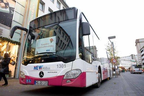 Kostenloser Gepäckbus an Hindenburgstraße und Stresemannstraße